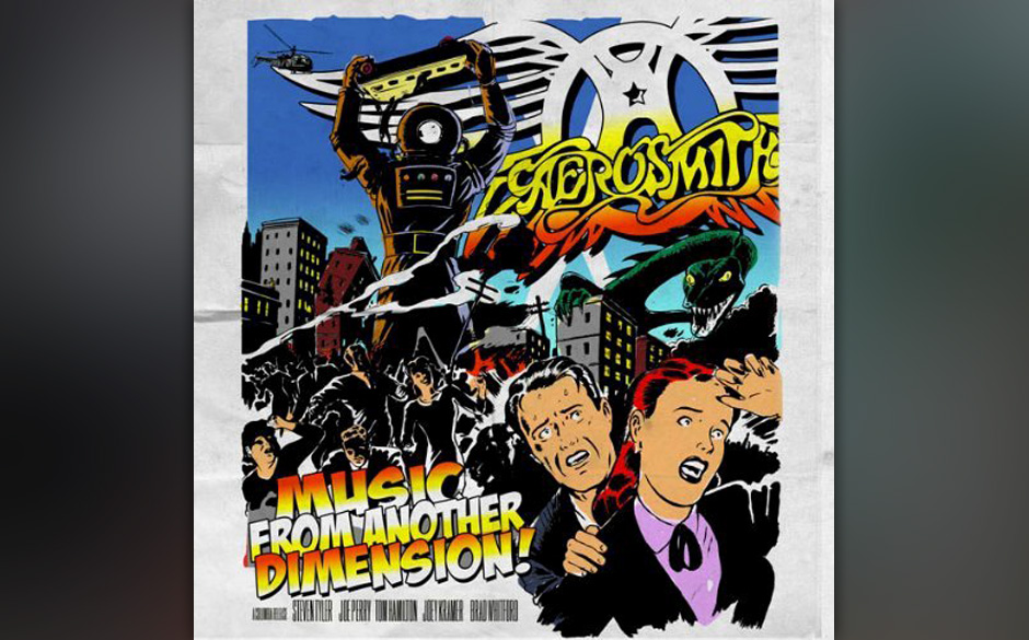 Aerosmith 'Music From Another Dimension!'