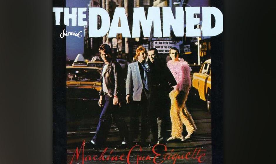 Herz-Platte: The Damned - Machine Gun Etiquette