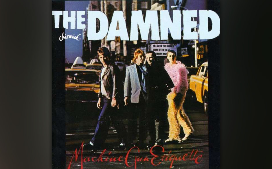 Herz-Platte: The Damned - Machine Gun Etiquette