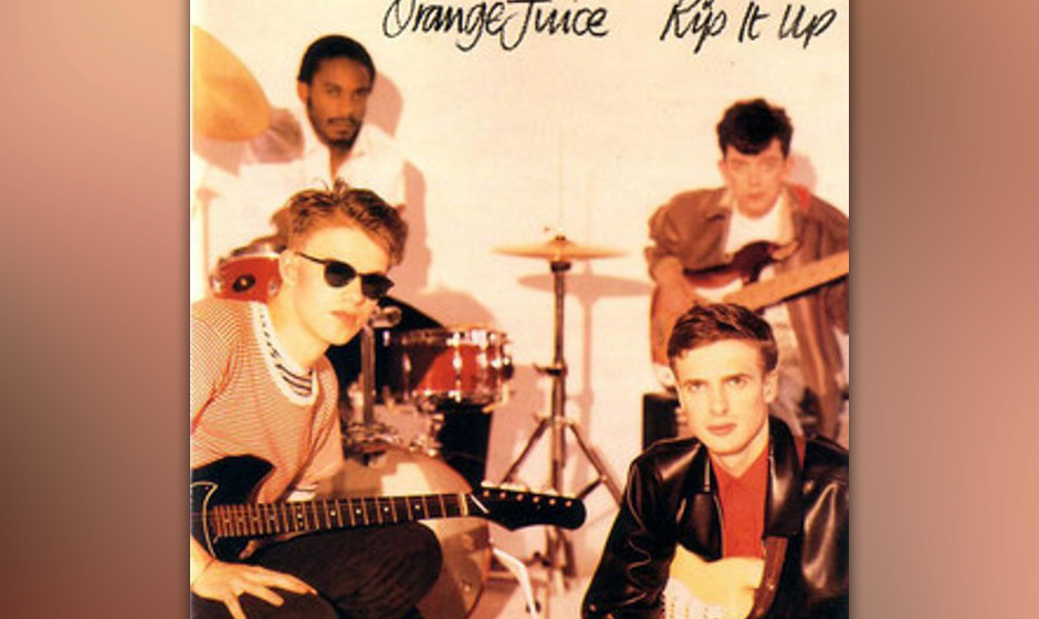 Herz-Platte: Orange Juice - Rip It Up