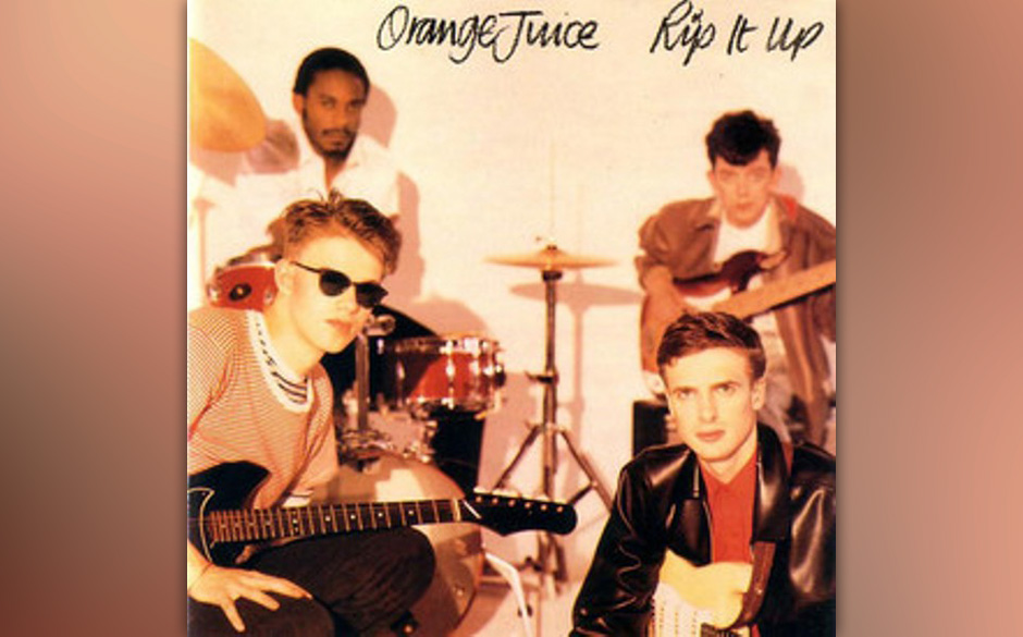 Herz-Platte: Orange Juice - Rip It Up