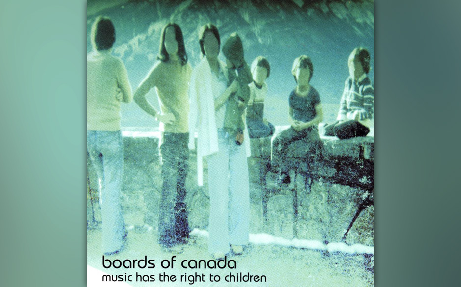 Herz-Platte: Boards Of Canada - Music Has The Right To Children