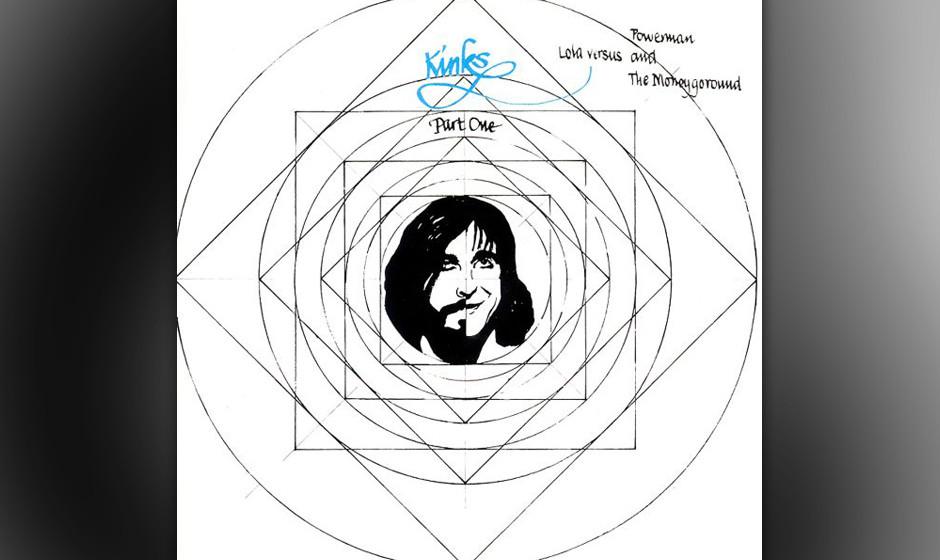Herz-Platte: The Kinks - Lola Versus Powerman And The Moneygoround, Part One