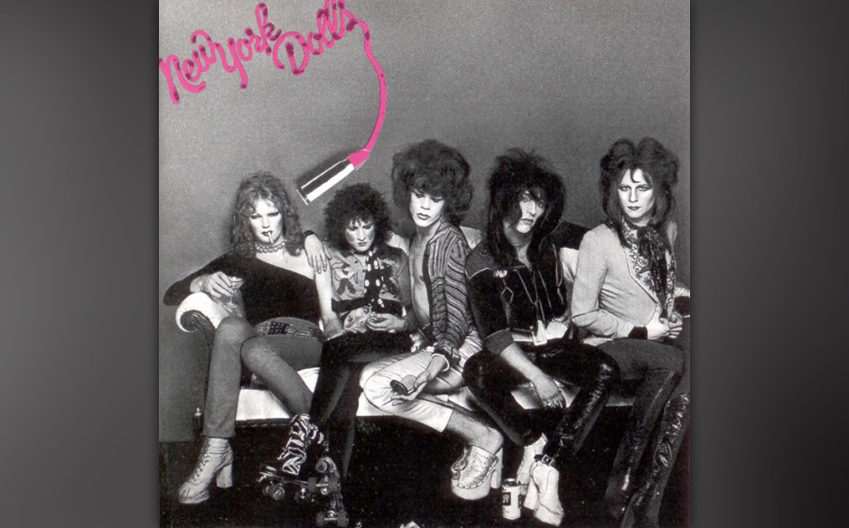 Herz-Platte: New York Dolls - New York Dolls