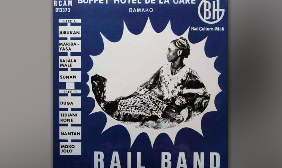 Herz-Platte: Rail Band- Buffet Hotel de la Gare Bamako