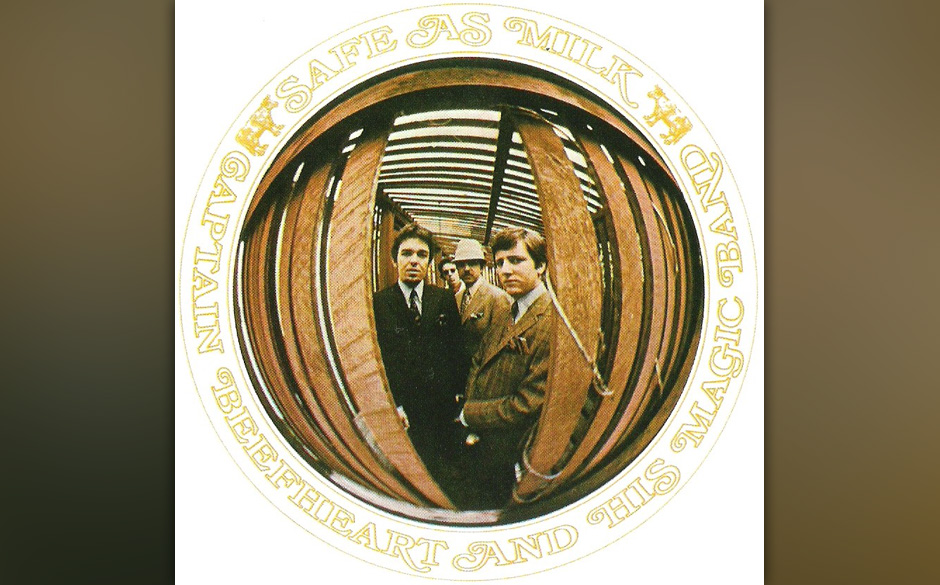Herz-Platte: Captain Beefheart & His  Magic Band - Safe As Milk