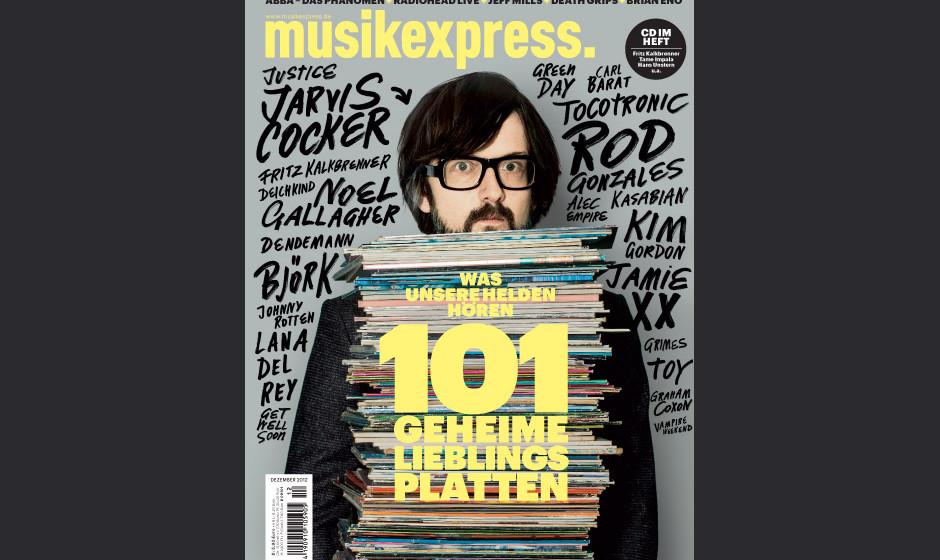 Die Dezemberausgabe des Musikexpress