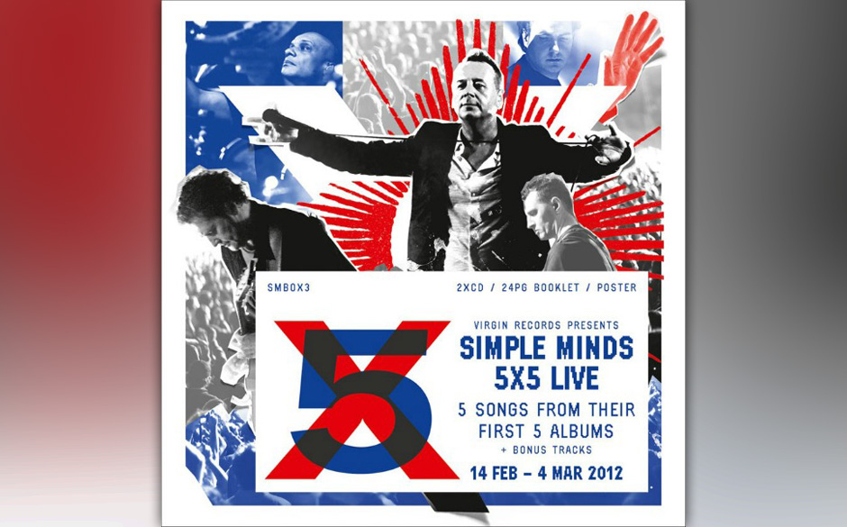 Simple Minds '5x5 Live' (Limited Edition)