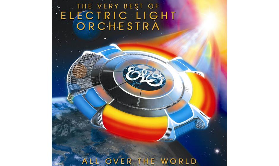 …und mit den Originalschinken seiner alten Band 'All Over The World – The Very Best Of' auf Platz zehn.