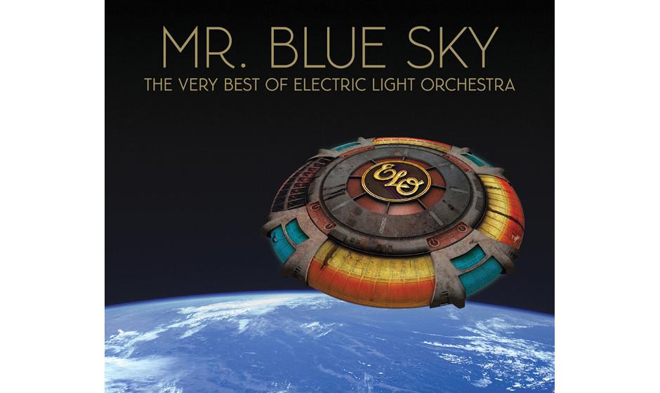… mit Neuaufnahmen alter ELO-Hits 'Mr Blue Sky – The Very Best Of' auf Platz acht …