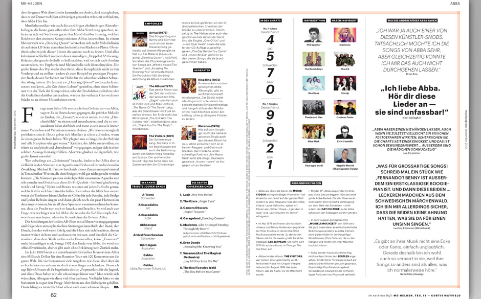 Ausriss aus der aktuellen Ausgabe des Musikexpress