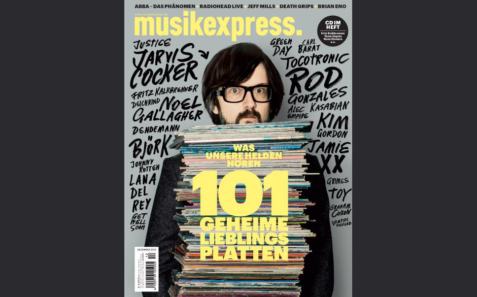 Musikexpress Dezember 2012: 101 geheime Lieblingsplatten