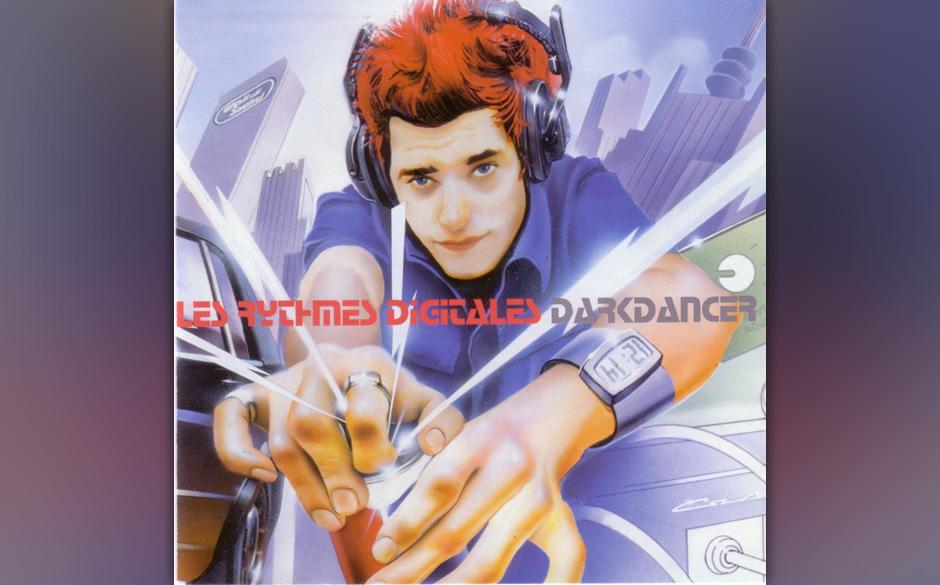 De Rosnay (Justice) über Les Rythmes Digitales 'Darkdancer': 'Das Album stammt von Jaques Lu Cont alias Stuart Price und wur