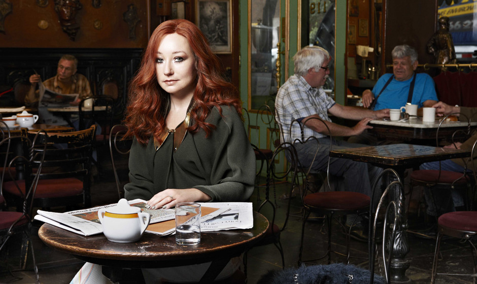 Tori Amos: 'Icicle': And when my hand touches myself, I can finally rest my head, And when they say take of his body I think