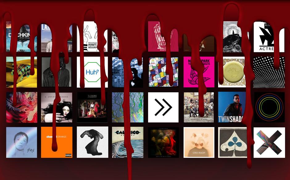 Ermittelt: der härteste Plattenkritiker im Jahr 2012