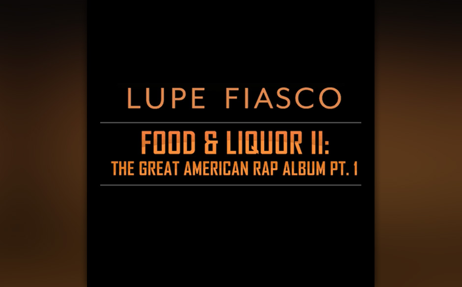 Nominiert in der  Kategorie 'Best Rap Album': Lupe Fiasco — Food & Liquor II: The Great American Rap Album, Pt. 1