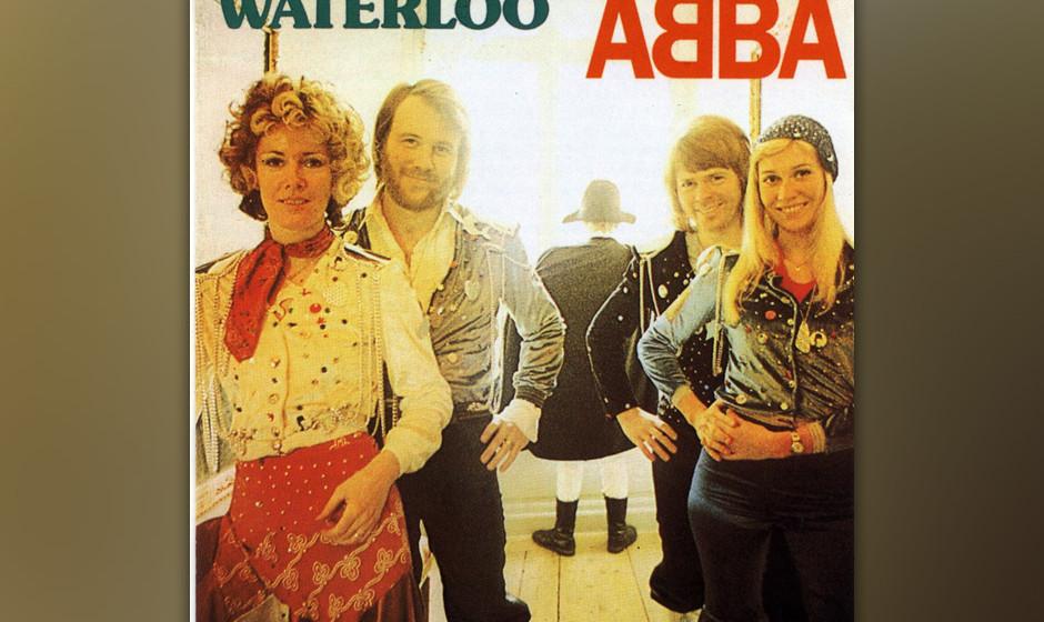 8. 'Waterloo'. Der wohl beste Song, der je den Eurovision Song Contest gewonnen hat (1974). Manch einer wird gar sagen: der e