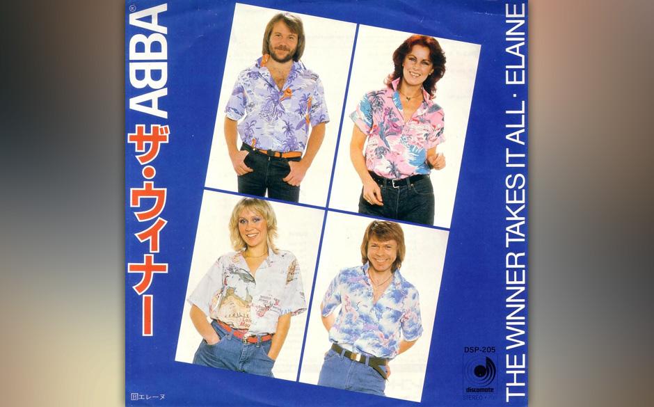 16. 'The Winner Takes It All'.  Lange Zeit hielt sich das Gerücht, dass in diesem Song die Trennung von Björn Ulvaeus und A