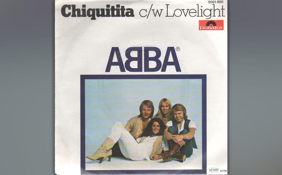 15. 'Chiquitita'. Benny Andersson verfolgt hier ein altes Ohrwurm-Gesetz: das instrumentale Outro, das nach Ende des Songs se