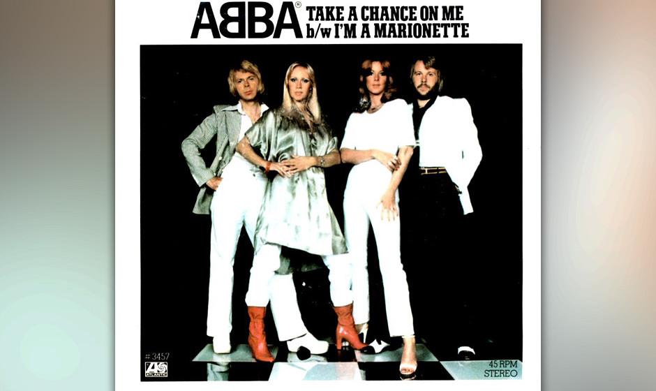 14. 'Take A Chance On Me'. Das atemlose Take-a-chance-take-a-take-a-chance-chance-A-capella-Arrangement zum Start (das Benny