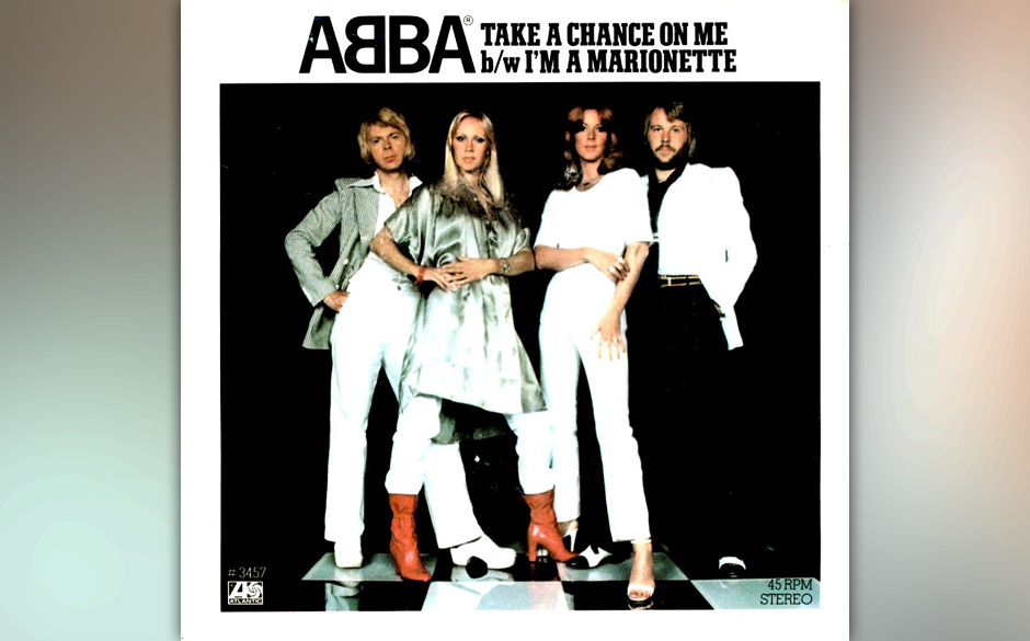 14. 'Take A Chance On Me'. Das atemlose Take-a-chance-take-a-take-a-chance-chance-A-capella-Arrangement zum Start (das Benny