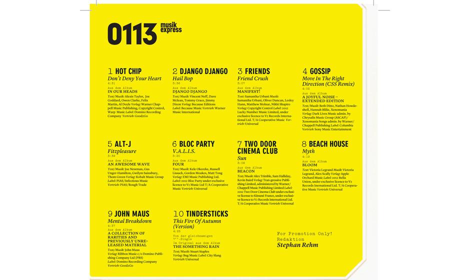 Mixtape 2012