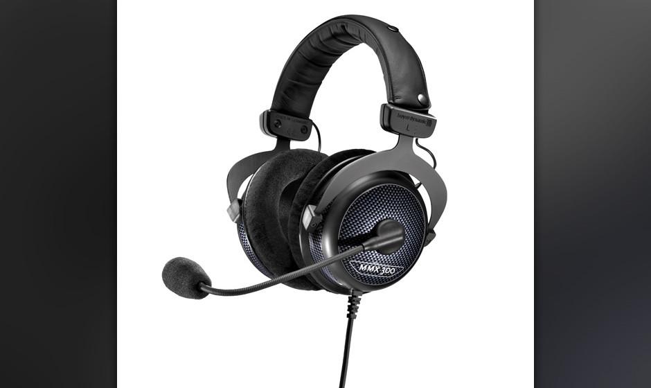 1 x MMX 300 von beyerdynamic. Ein Maximum an Klang, Leistung und Tragekomfort.