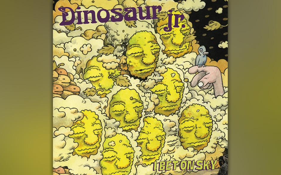 """43. Dinosaur Jr.: 'I Bet On Sky'. """"Ear-bleeding Country"""" war das Ziel, dem sich die miteinander wieder ausgesöhnten Musi"""