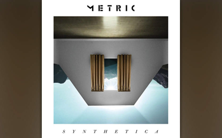Platz 58: Metric - Synthetica (410 Stimmen)
