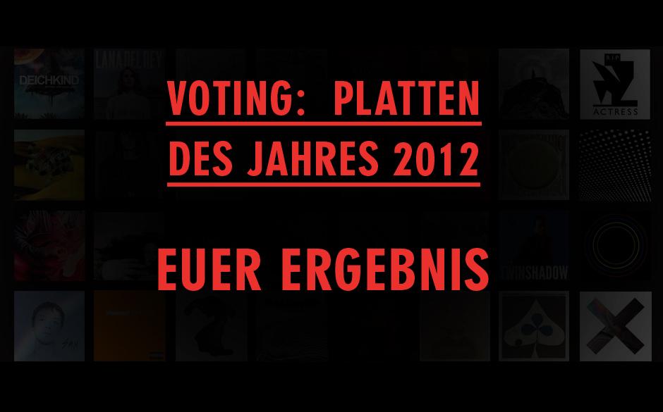 Ihr habt entschieden: Dies sind eure Lieblingsplatten 2012 - Plätze 100-51