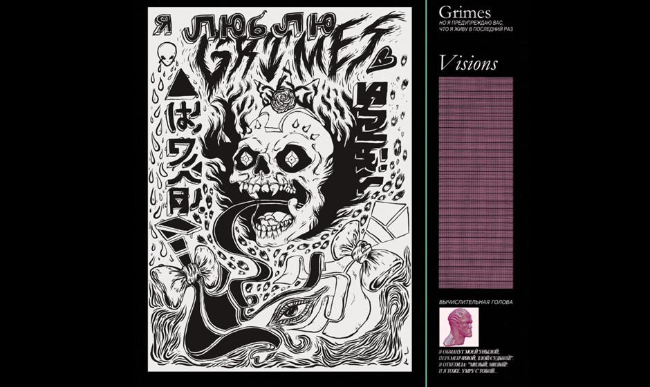Platz 60: Grimes - Visions (382 Stimmen)
