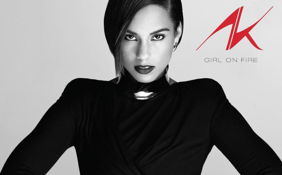 Platz 61: Alicia Keys - Girl On Fire (373 Stimmen)
