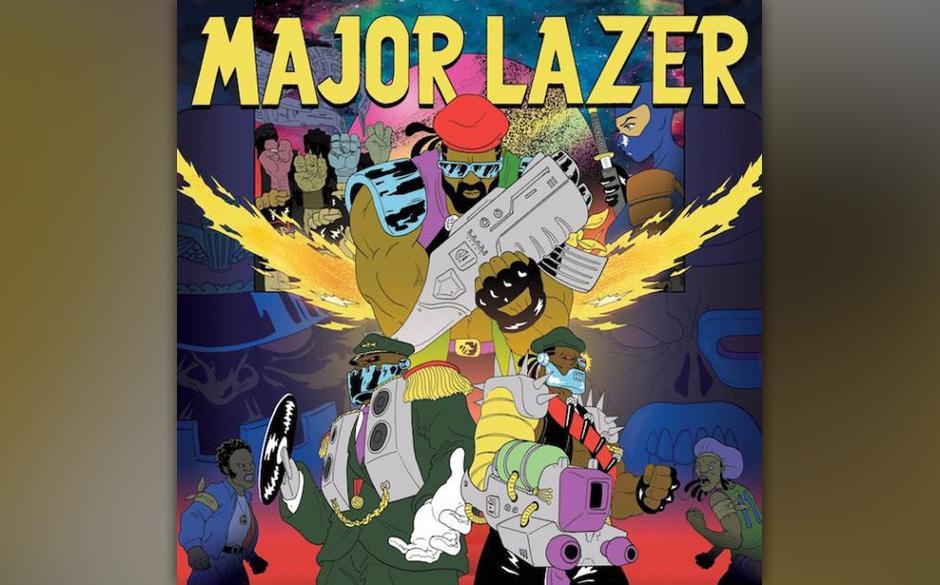 Major Lazer 'Free The Universe' VÖ: 22.2.