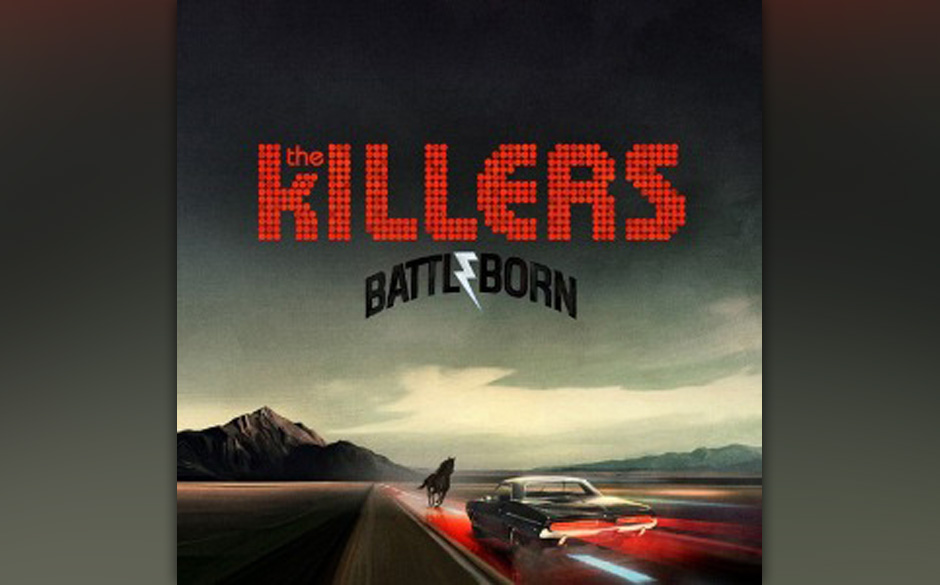 Platz 30: The Killers - Battle Born (999 Stimmen)