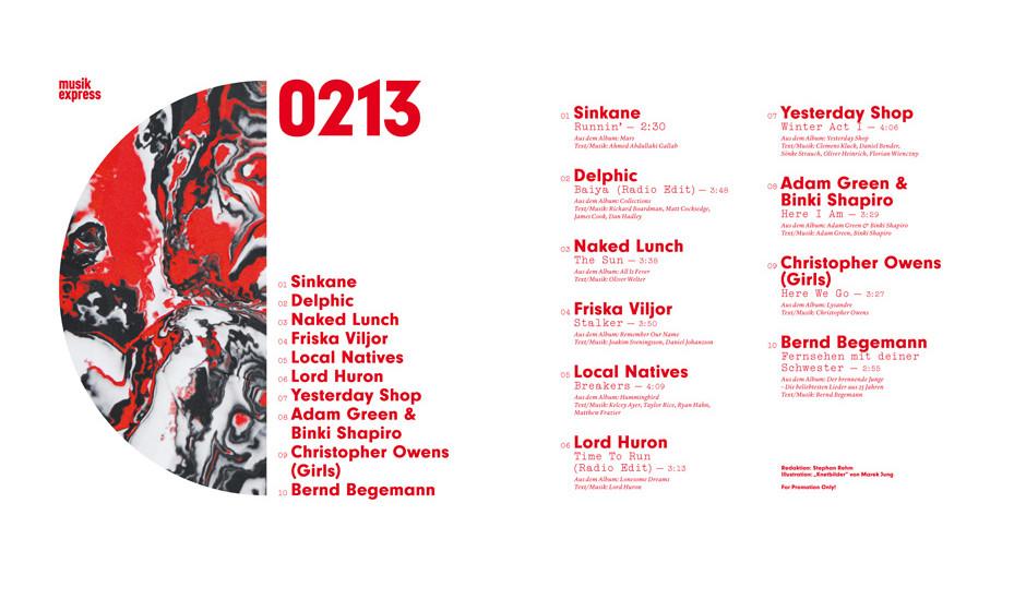 Unsere Beilage zur aktuellen Ausgaben: die Heft-CD.