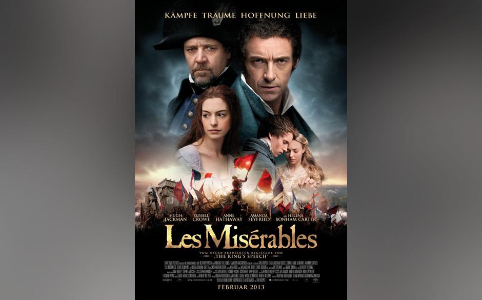 Nominiert in der Kategorie: bester Film - 'Les Misérables'