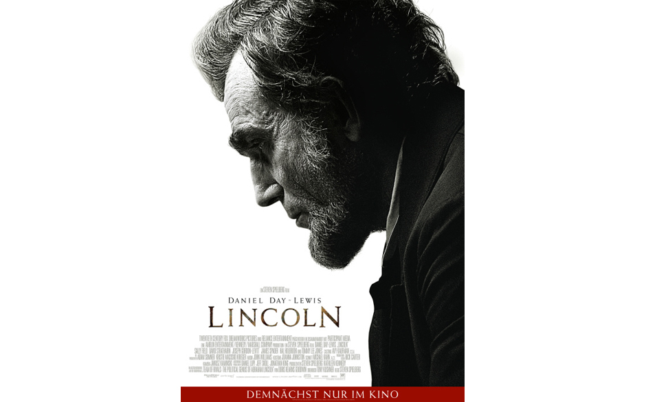 Nominiert in der Kategorie: bester Film - 'Lincoln'