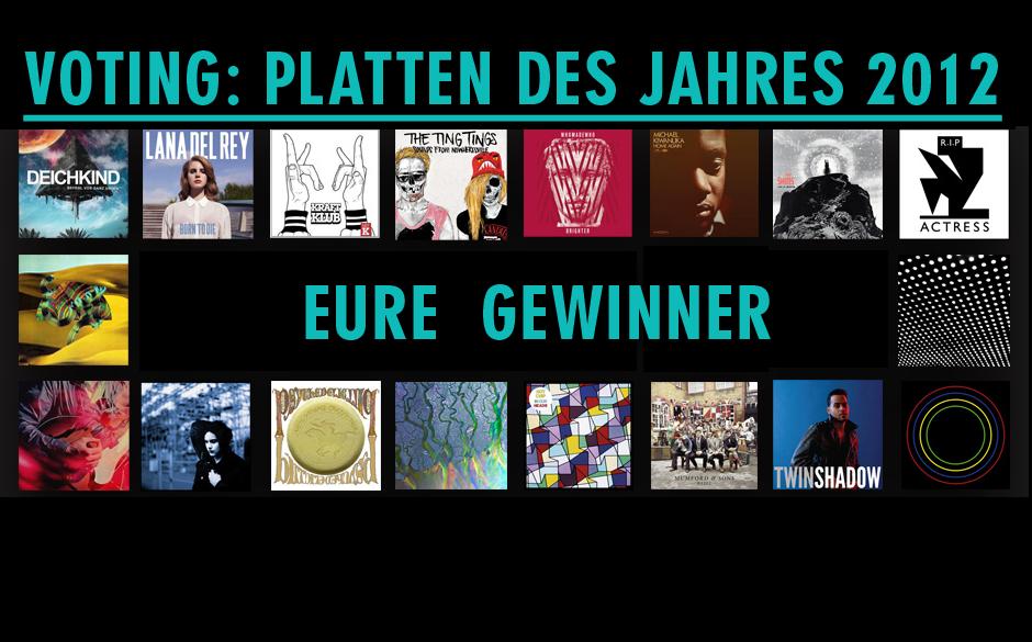Dies sind Eure Lieblingplatten des Jahres 2012 >>>