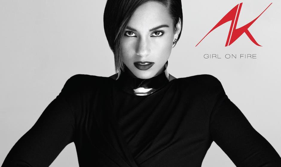 Platz 61: Alicia Keys - Girl On Fire (373 Stimmen)