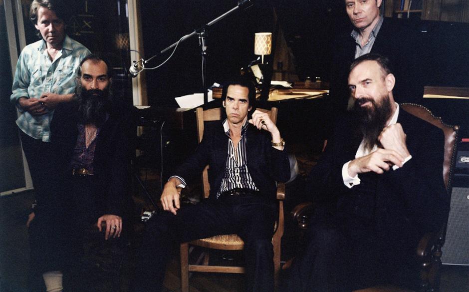 Nick Cave & The Bad Seeds im Studio