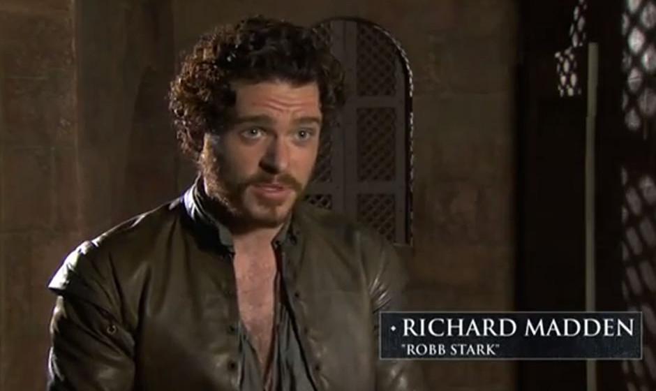 Richard Madden, 'Robb Stark'