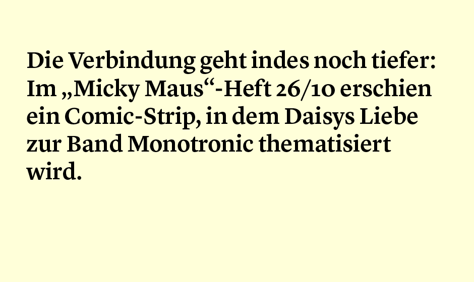 Faktum 26: Tocotronic und Mickey
