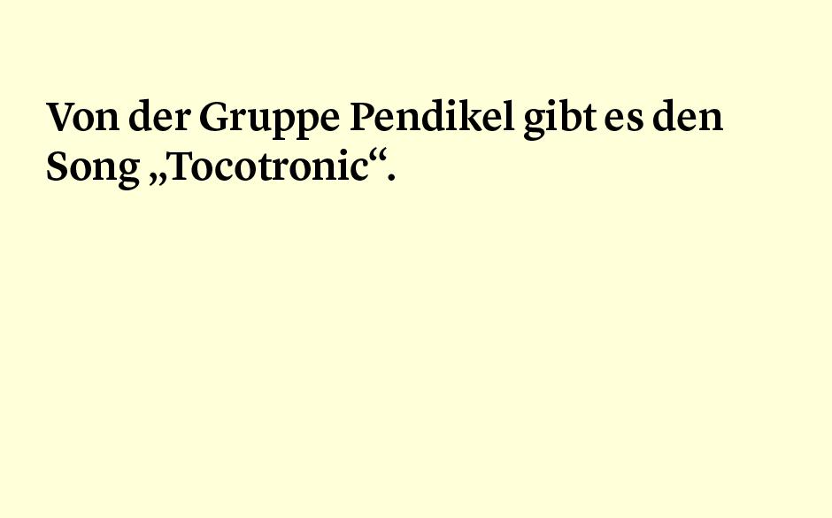 Faktum 30: Pendikel und Tocotronic