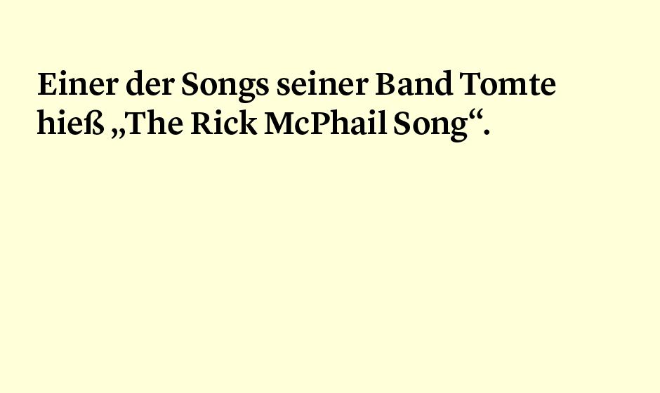 Faktum 34: Rick McPhail und Tomte