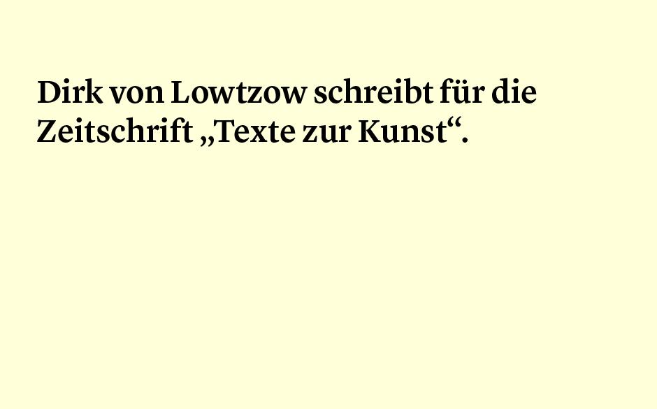 Faktum 37: Dirk von Lotzow als Autor