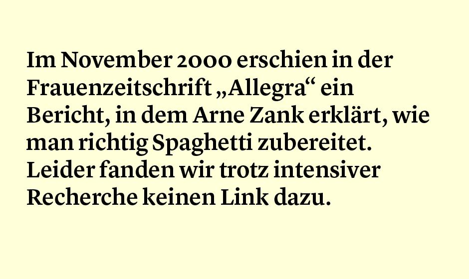 Faktum 38: Kochen mit Arne Zank