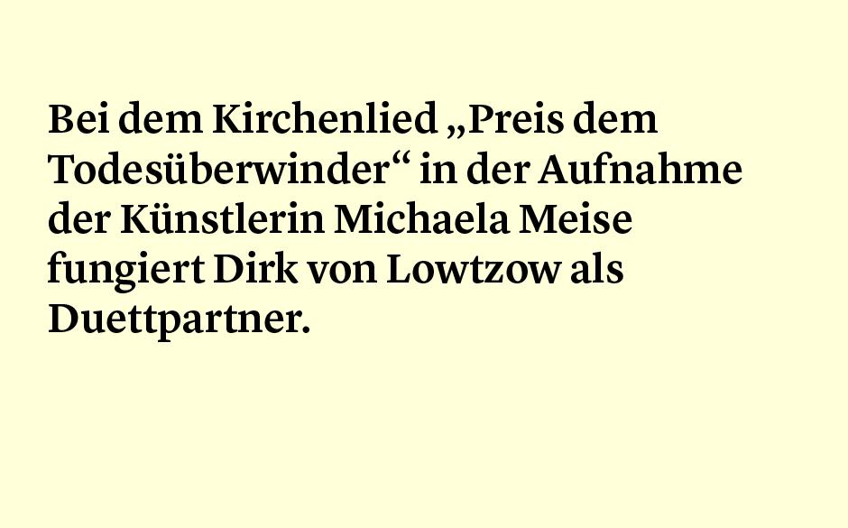 Faktum 39: Michaela Meise und Dirk von Lotzow