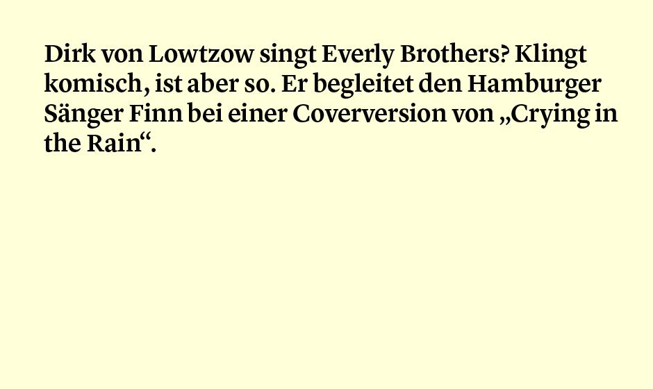 Faktum 41: von Lotzow und die Everly Brothers