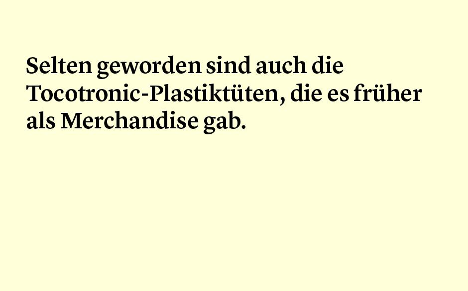 Faktum 58: Tocotronic-Plastiktüten