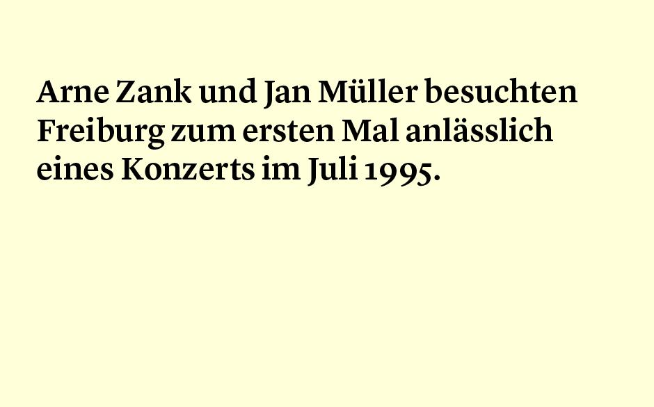 Faktum 66 Arne Zank und Jan Müller und Freiburg.